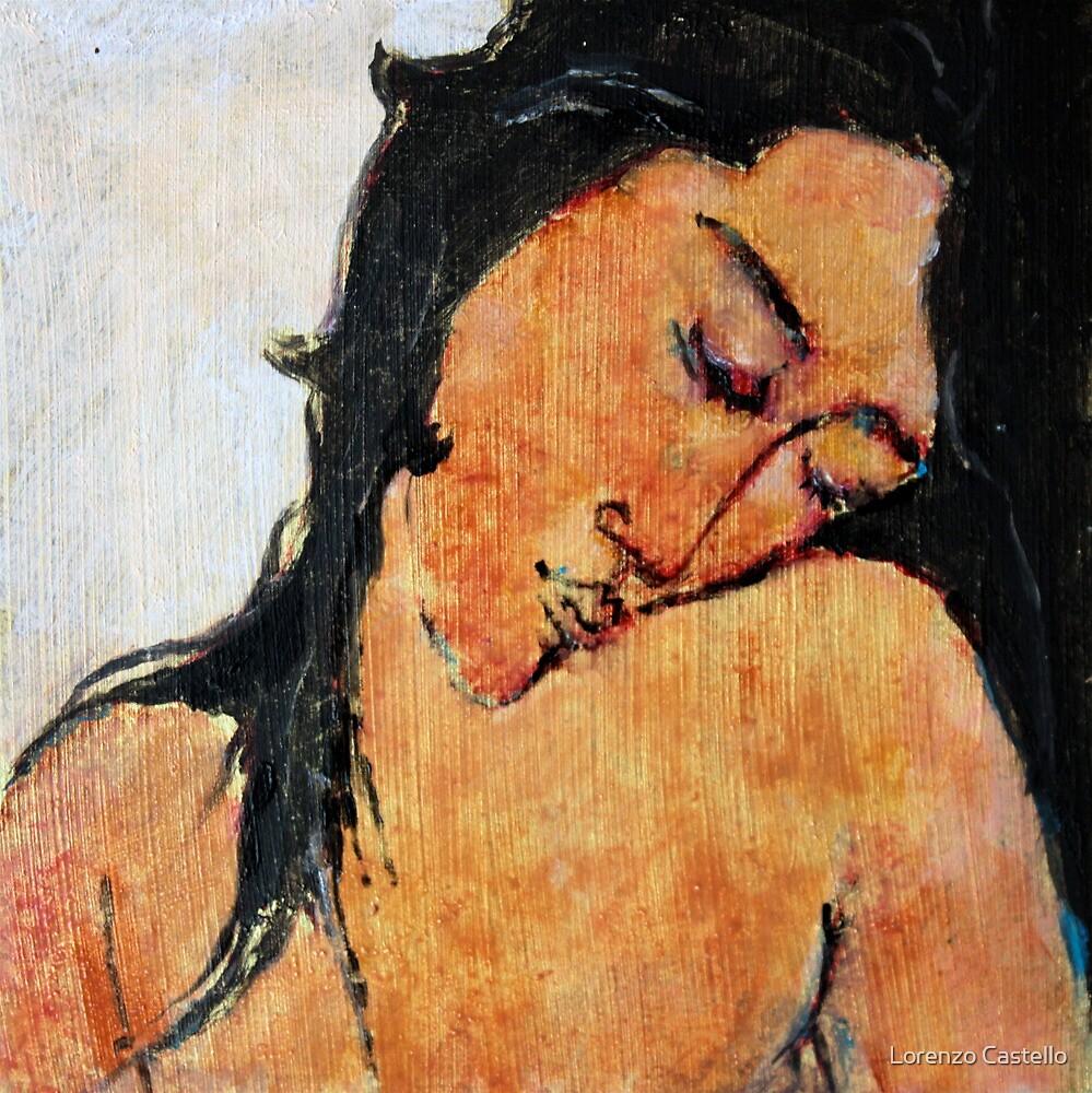 Omaggio a Modigliani 2 by Lorenzo Castello