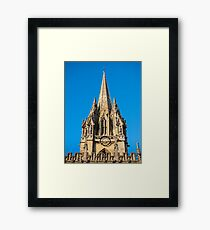 St Mary's Church Oxford England Framed Print