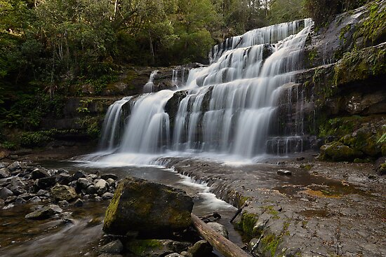 Liffey Falls. by Warren  Patten