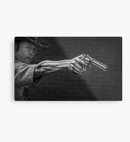 The Strong Arm Of The Law Metal Print
