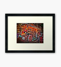 Steam Engine Berkshire England Framed Print