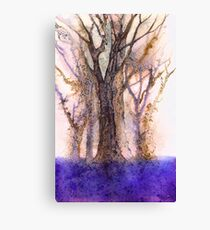 If you go down to the woods today you're sure of a big surprise. Canvas Print