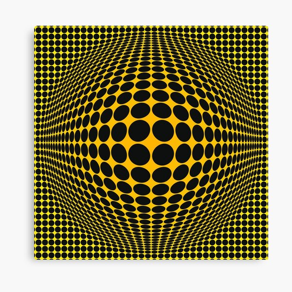 Victor Vasarely Homage 103 Impression sur toile