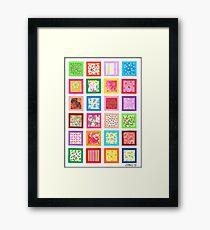 REMAINING ARTWORK Framed Print