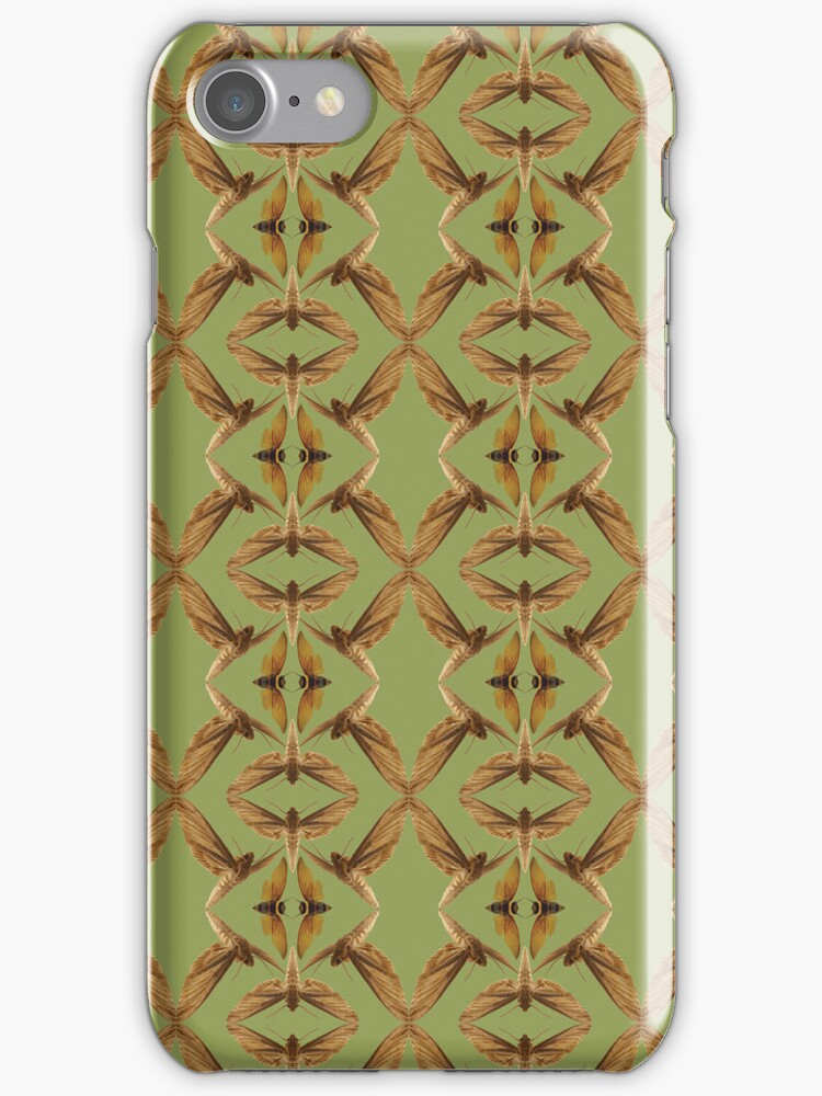 Moths and Bugs Iphone/Ipod Case by EdwardAlbert