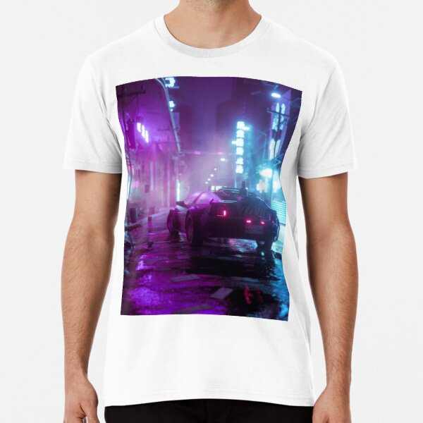 Cyberpunk 77 Premium T-Shirt