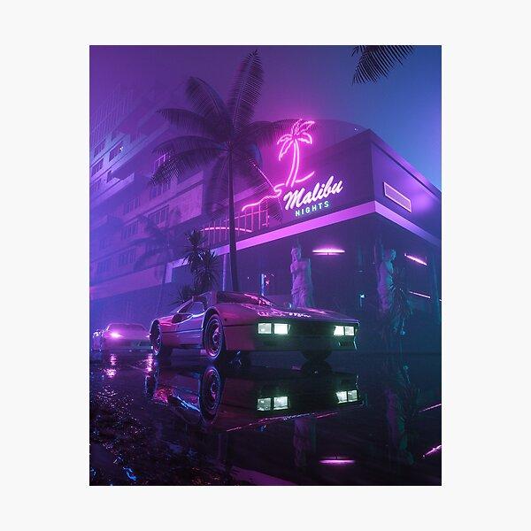 Malibu Nights Photographic Print