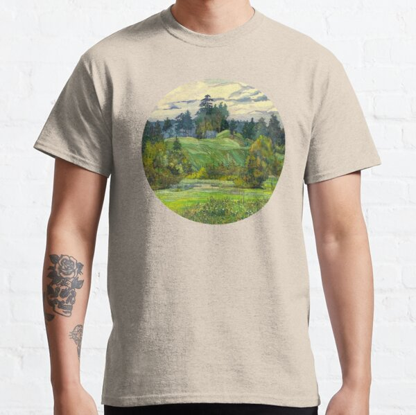 Pines painting  watercolor  Classic T-Shirt