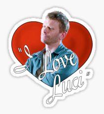 I Love Luci Sticker