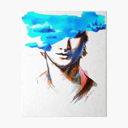 successively digitized Art Board Print