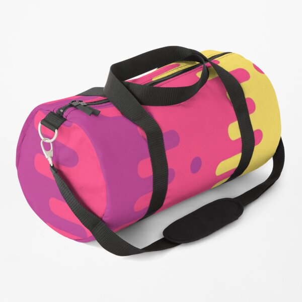 Background colorful image Duffle Bag