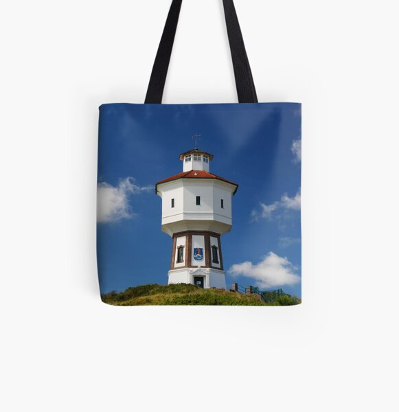which sits on top of a dune and from which you have a great view of the whole island. All Over Print Tote Bag