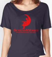 ScreamWorks (Red) Women's Relaxed Fit T-Shirt