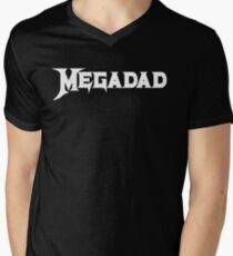 Megadad Men's V-Neck T-Shirt
