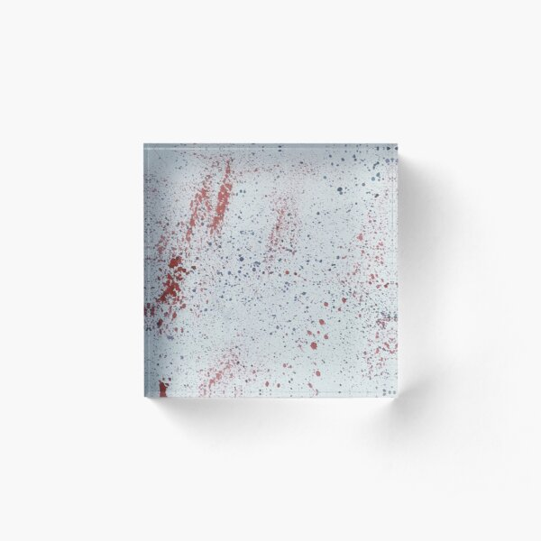 Olivias spotted  Acrylic Block