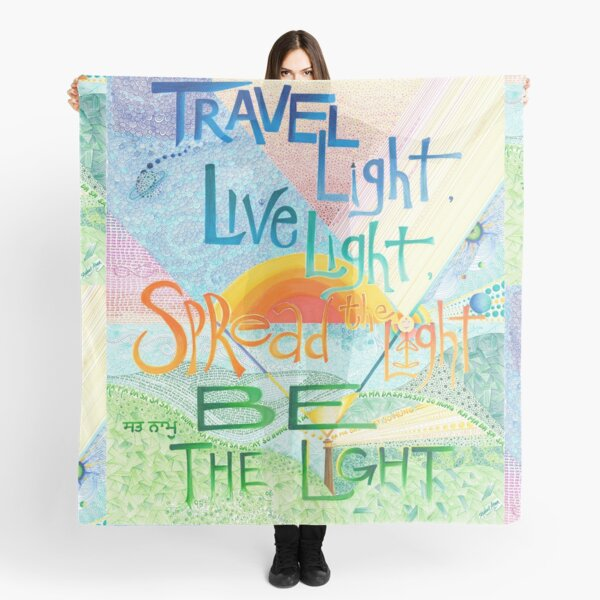 Be The Light Scarf