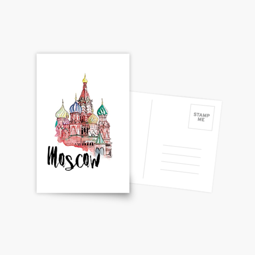 Moscow Postcard