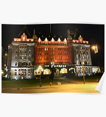 The Fairmont Empress Hotel Poster