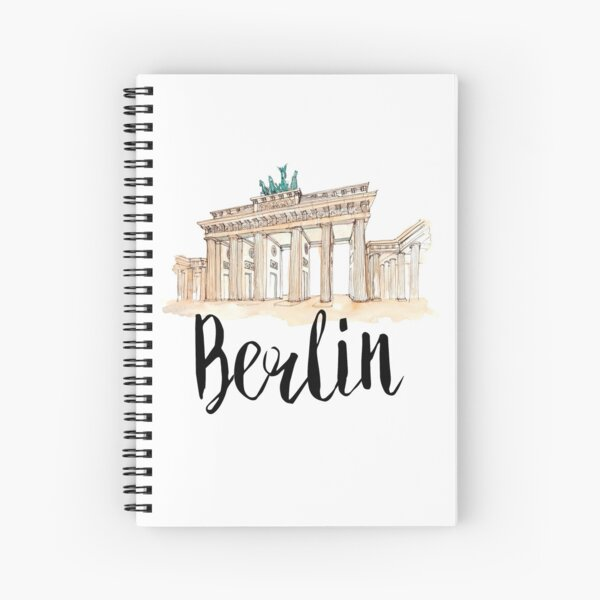 Berlin Spiral Notebook