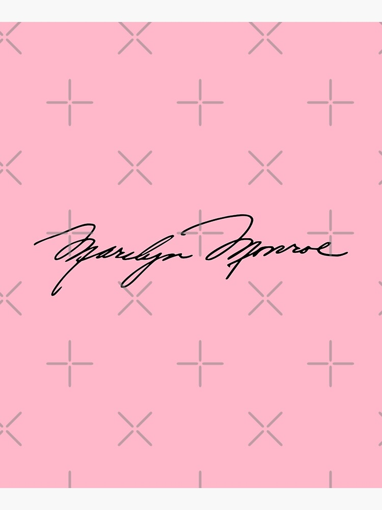 Authenticated Signature of Marilyn Monroe |  Marilyn Monroe's Autograph by Gascondi