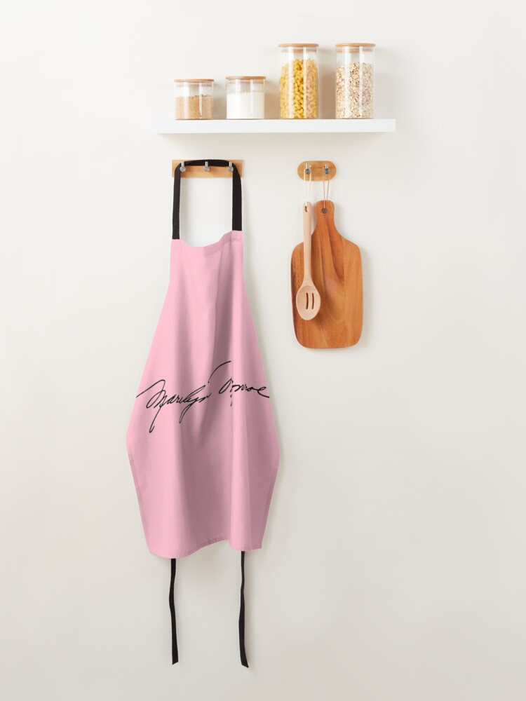 Alternate view of Authenticated Signature of Marilyn Monroe |  Marilyn Monroe's Autograph Apron