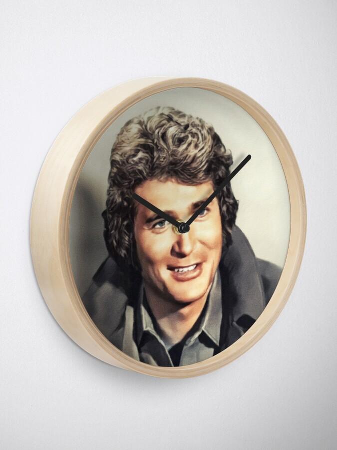 Alternate view of Michael Landon, Vintage Actor Clock