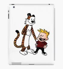 Calvin & Hobbes Funny iPad Case/Skin