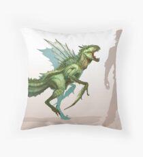 Scyther Throw Pillow