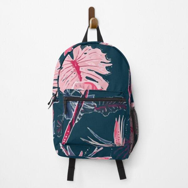 Exotic tropical leaves Backpack