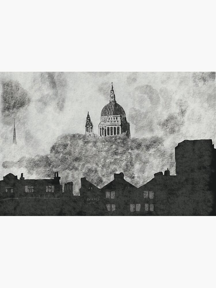 The London Blitz September 1940. by hoxtonboy