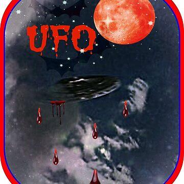 UFO IN THE SKY by DMEIERS