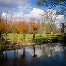 River Kennet Kintbury England by mlphoto