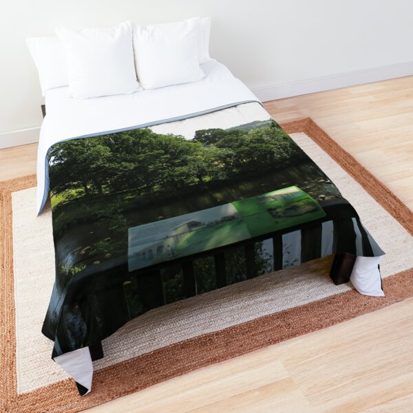 Merch #93 -- Chesters Bridge Board - Distant Shot (Hadrian's Wall) Comforter