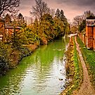 Hungerford Canal England by mlphoto