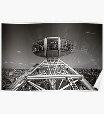 London Eye England Poster