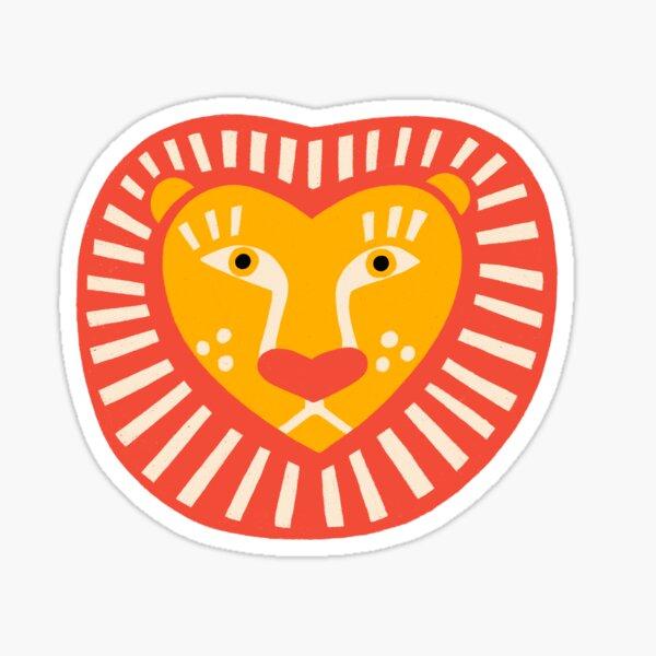 COURAGEOUS HEART Sticker
