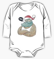 Hipsta Claus One Piece - Long Sleeve