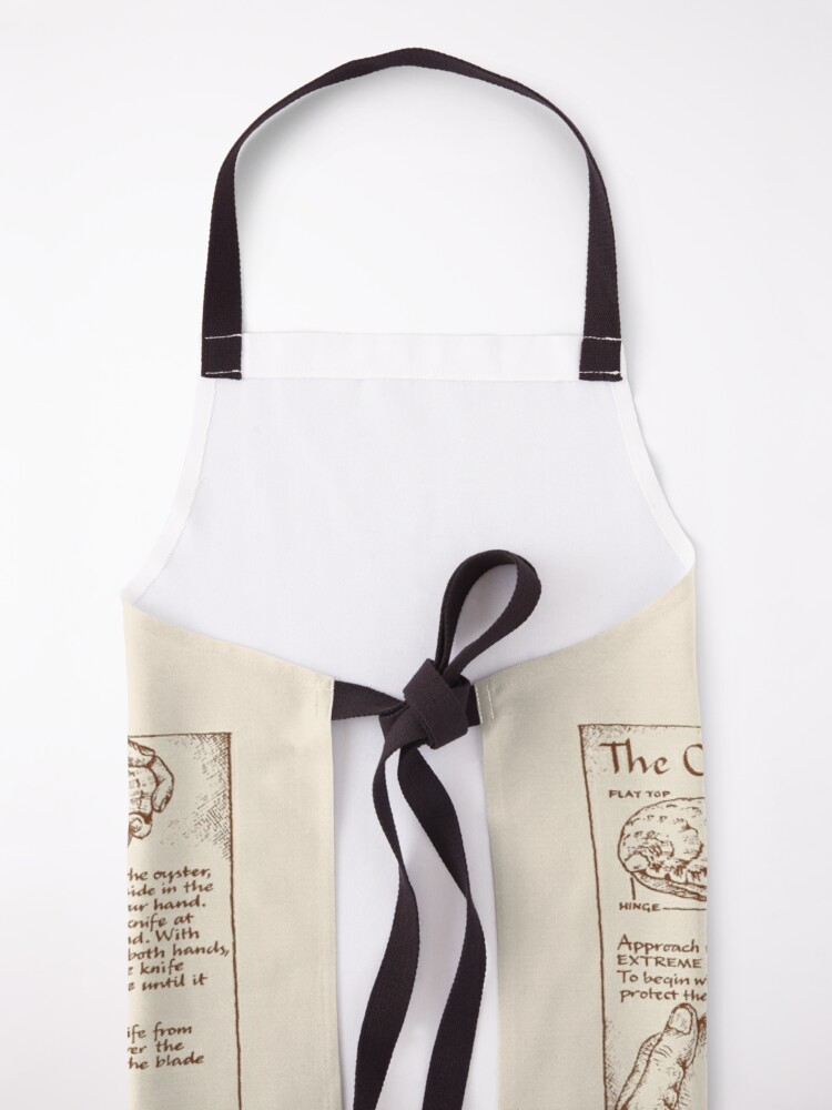 Alternate view of Oyster Opening Guide Apron