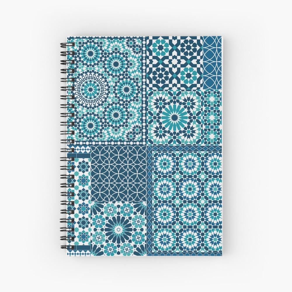 Moroccan tiles 1 Spiral Notebook