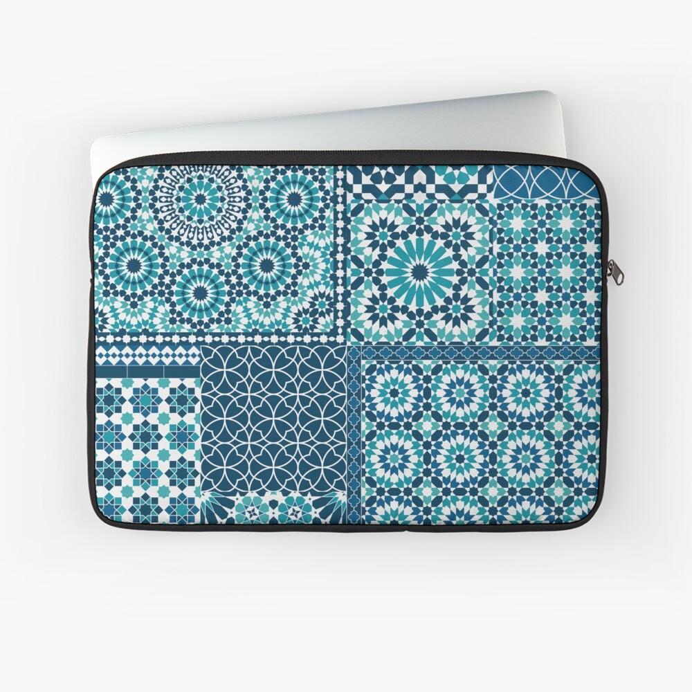 Moroccan tiles 1 Laptop Sleeve