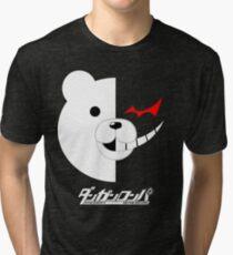 Dangan Ronpa- Monokuma shirt Tri-blend T-Shirt