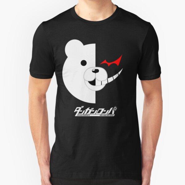 Dangan Ronpa- Monokuma shirt Slim Fit T-Shirt