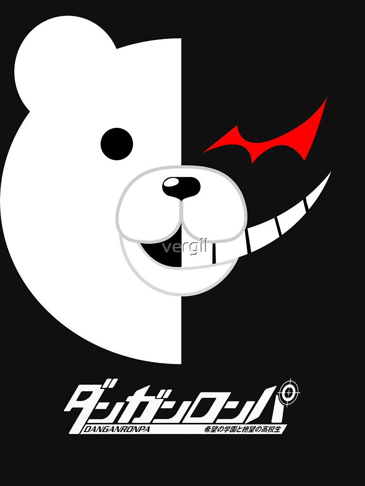 Dangan Ronpa- Monokuma shirt by vergil