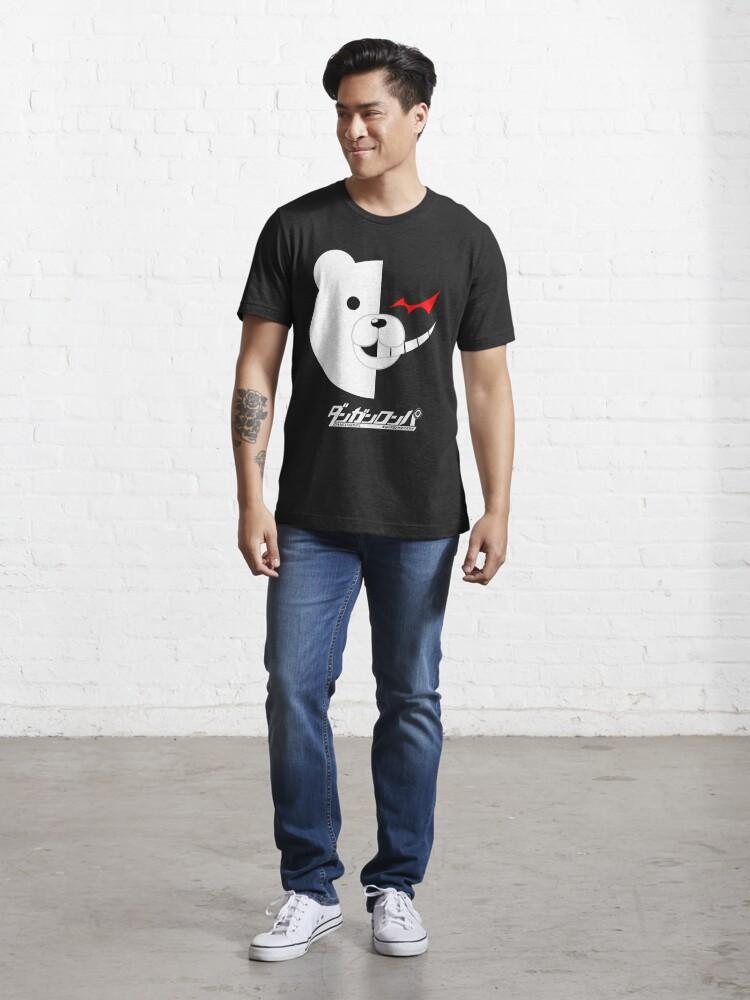 Alternate view of Dangan Ronpa- Monokuma shirt Essential T-Shirt