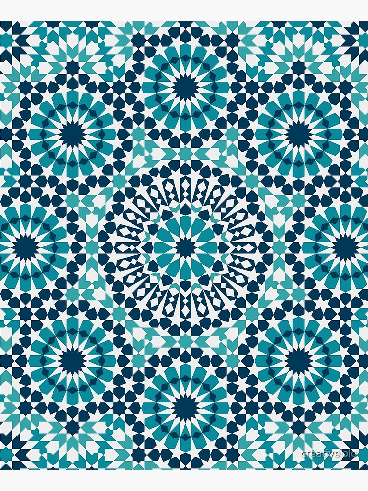 Moroccan tiles 2 by creativelolo