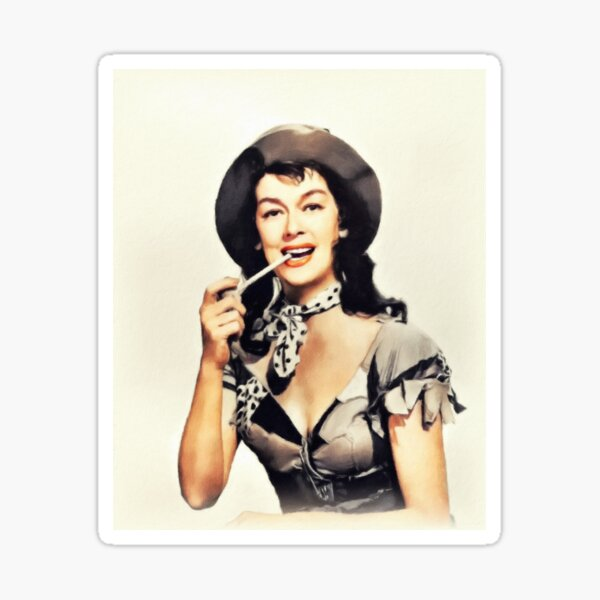 Rosalind Russell, Vintage Actress Sticker