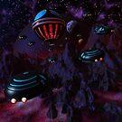 Scout Ships Return by Dreamscenery