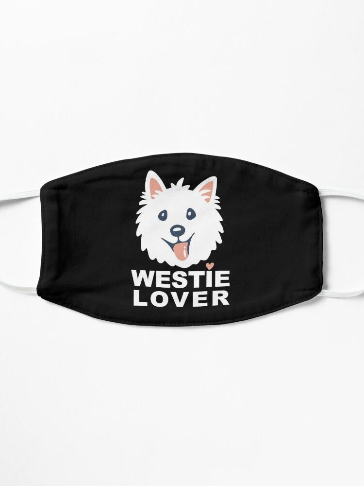 Alternate view of Westie Lover Mask