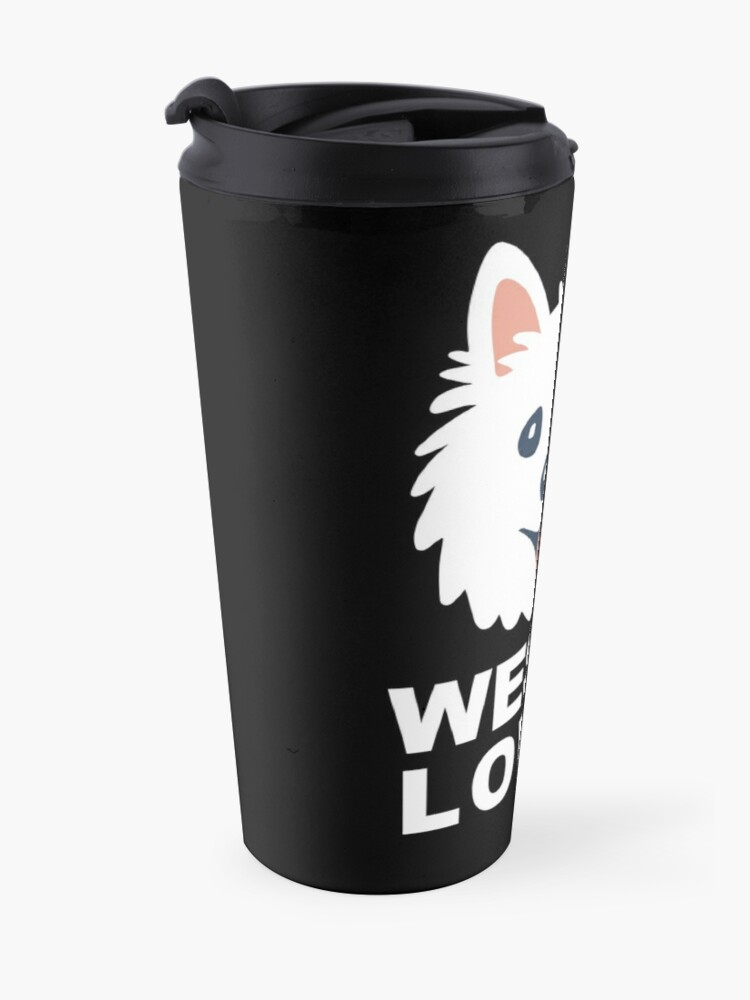 Alternate view of Westie Lover Travel Mug