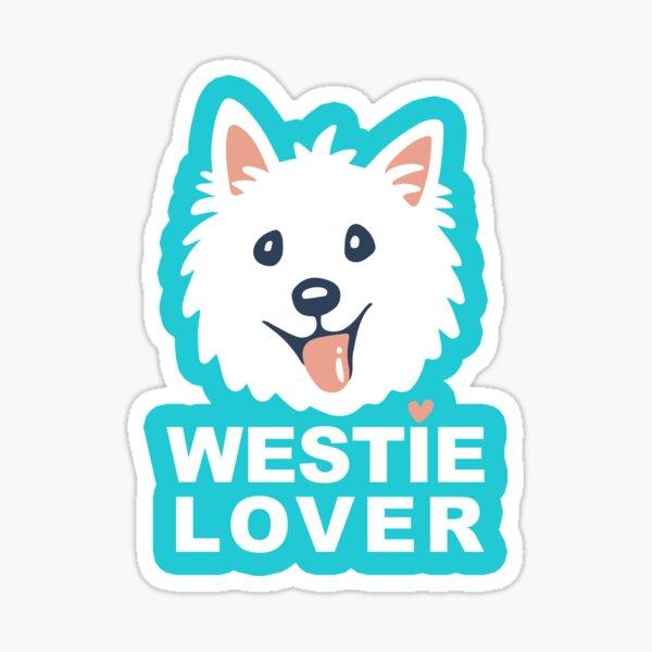 Westie Lover Sticker